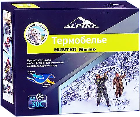 Термобелье комплект ALPIKA HUNTER Merino (42)